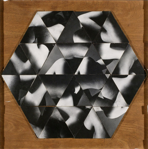 Robert Heinecken, Refractive Hexagon. 1965