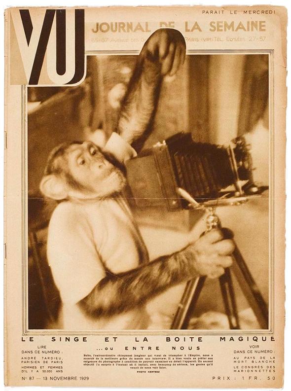 Vu, magazine, periodical