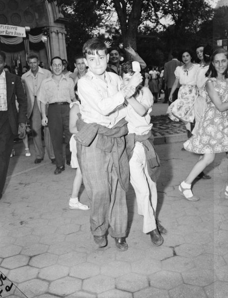 Weegee Wednesday: Dancing is Free at a Summer Barn Dance ...