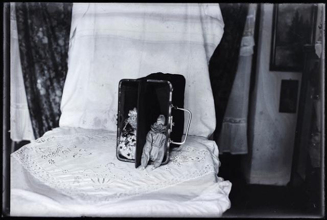 Martin Munkasci, glass plate negatives