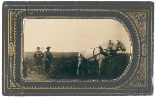 tintype, tin type, Unidentified Photographer